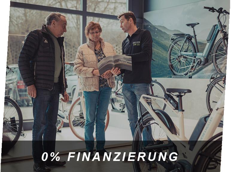 0% Finanzierung, ein E-Bike Service von Zeller in Passau