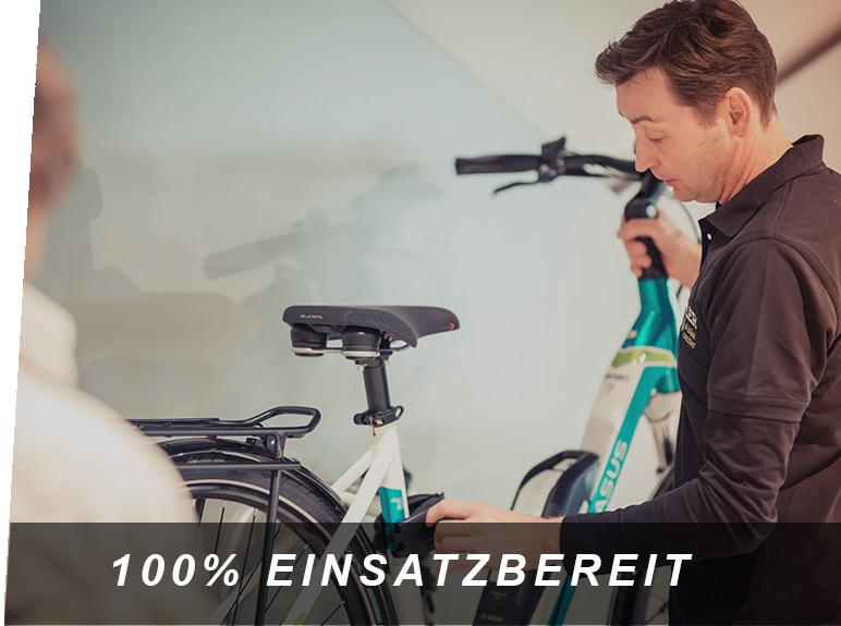 100% Einsatzbereit, ein E-Bike Service von Zeller in Passau
