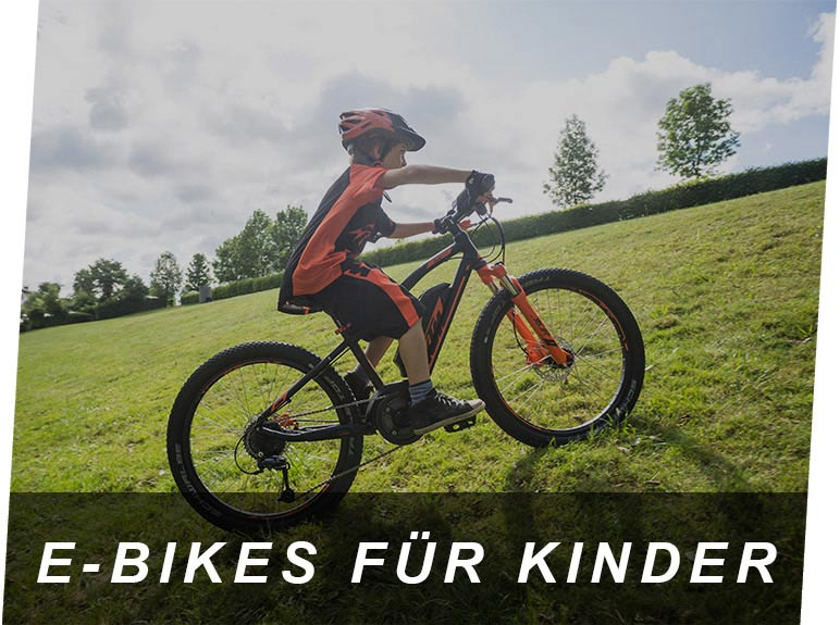 E-Bikes für Kinder E-Bike Center Zeller Passau
