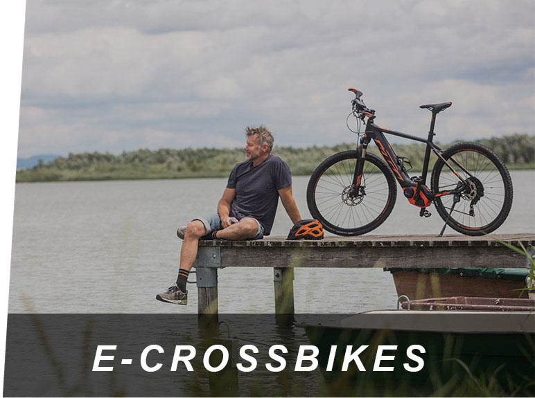 E-Crossbikes & E-Bikes vom E-Bike Center Zeller in Passau