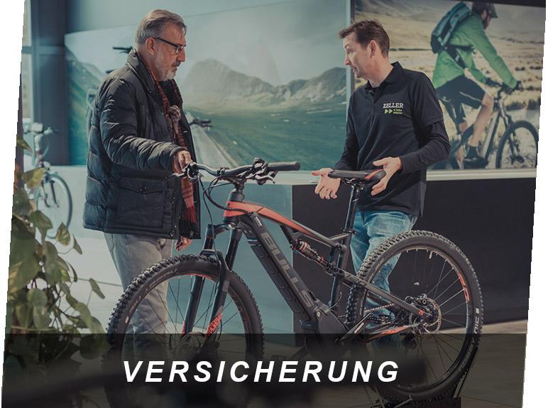 E-Bike Versicherung, ein E-Bike Service von Zeller in Passau