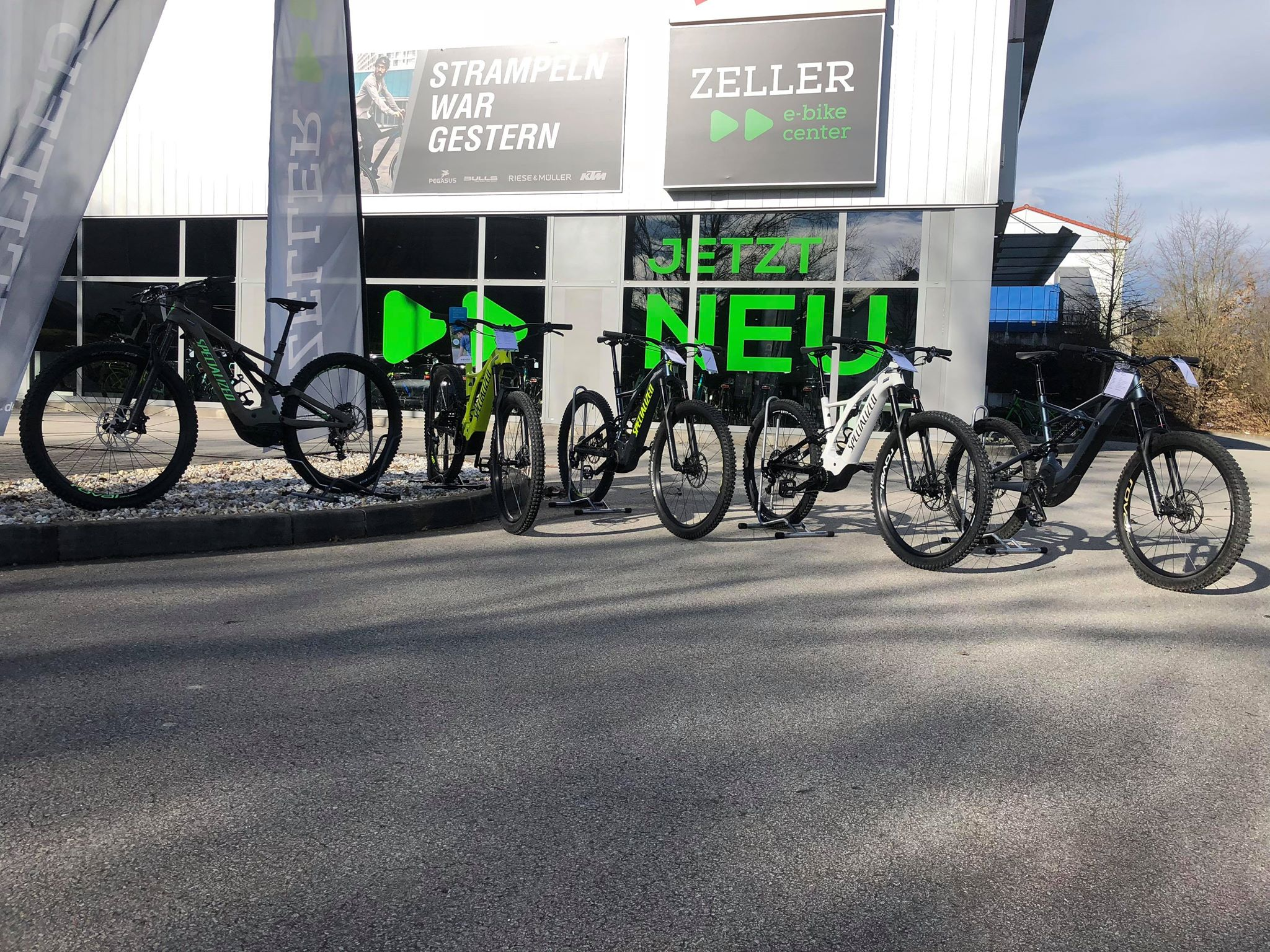2019er Specialized Levo's